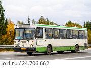 Купить «LIAZ 5256», фото № 24706662, снято 31 августа 2012 г. (c) Art Konovalov / Фотобанк Лори