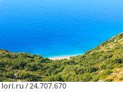 Купить «Summer Ionian sea coast, Albania.», фото № 24707670, снято 12 июля 2016 г. (c) Юрий Брыкайло / Фотобанк Лори