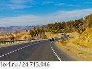 Купить «Трасса Чита-Хабаровск», фото № 24713046, снято 24 марта 2015 г. (c) Хайрятдинов Ринат / Фотобанк Лори