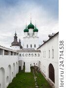 Купить «Церковь Иоанна Богослова Ростовского кремля, Россия», фото № 24714538, снято 3 сентября 2016 г. (c) Anna P. / Фотобанк Лори