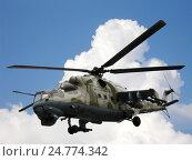 Вертолет Ми-24В Ми-35. Стоковое фото, фотограф Владислав Чеканин / Фотобанк Лори
