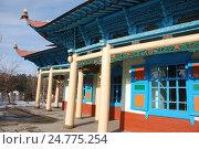Дунганская мечеть. Каракол. Киргизия (2016 год). Стоковое фото, фотограф syngach / Фотобанк Лори