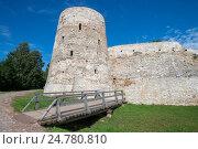 Башня Темнушка, Изборская крепость (2016 год). Редакционное фото, фотограф Геннадий Соловьев / Фотобанк Лори