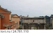 Купить «Santi Luca e Martina is a church in Rome, Italy», видеоролик № 24781110, снято 8 февраля 2016 г. (c) BestPhotoStudio / Фотобанк Лори