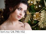 Купить «Портрет красивой девушки», фото № 24790102, снято 30 октября 2016 г. (c) Алексей Назаров / Фотобанк Лори