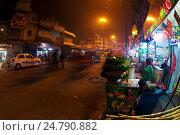 Купить «Пахарганж, Дели, Индия», фото № 24790882, снято 17 апреля 2019 г. (c) OSHI / Фотобанк Лори