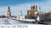 Кремль. Рязань (ст. Переяславль-Рязанский). Панорама (2016 год). Редакционное фото, фотограф Владимир Макеев / Фотобанк Лори