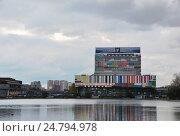 Москва. Здание телецентра в Останкино (2016 год). Редакционное фото, фотограф Инесса Гаварс / Фотобанк Лори