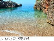 Купить «Summer Ionian sea coast, Albania.», фото № 24799894, снято 12 июля 2016 г. (c) Юрий Брыкайло / Фотобанк Лори