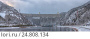 Саяно-шушенская ГЭС (2017 год). Редакционное фото, фотограф Valeriy Ryasnyanskiy / Фотобанк Лори
