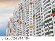 Высотное жилое здание. Стоковое фото, фотограф Светлана Булычева / Фотобанк Лори