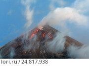 Вулкан Ключевская сопка, фото № 24817938, снято 1 октября 2016 г. (c) А. А. Пирагис / Фотобанк Лори