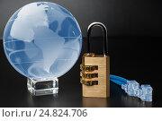 Купить «The concept of the World Wide Web. Security network.», фото № 24824706, снято 6 января 2017 г. (c) Александр Якимов / Фотобанк Лори