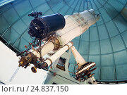Купить «telescope observatory», фото № 24837150, снято 17 апреля 2016 г. (c) Яков Филимонов / Фотобанк Лори