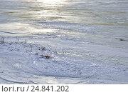 Лед на Волге. Стоковое фото, фотограф Илюхина Наталья / Фотобанк Лори