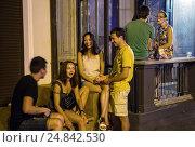 Купить «Odessa, Ukraine, young people from Kiev make a few days holiday in Odessa», фото № 24842530, снято 21 августа 2016 г. (c) Caro Photoagency / Фотобанк Лори