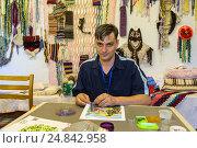 Купить «Orhei, Moldova, mentally handicapped youth in a state orphanage», фото № 24842958, снято 1 сентября 2016 г. (c) Caro Photoagency / Фотобанк Лори
