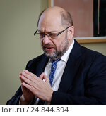 Berlin, Germany, book presentation, Martin Schulz - from bookseller to man for Europe, (2016 год). Редакционное фото, агентство Caro Photoagency / Фотобанк Лори