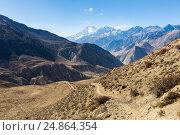 Горная тропа, Непал. Стоковое фото, фотограф Михаил Пряхин / Фотобанк Лори