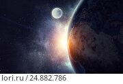 Купить «Our unique universe . Mixed media», иллюстрация № 24882786 (c) Sergey Nivens / Фотобанк Лори