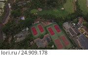 Купить «Aerial waterscape with ocean and distant mountains, Mauritius», видеоролик № 24909178, снято 4 ноября 2016 г. (c) Данил Руденко / Фотобанк Лори