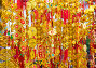 Tet (New Year in Vietnam) gold red decorations, фото № 24921790, снято 3 февраля 2016 г. (c) Александр Подшивалов / Фотобанк Лори
