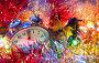 New Year tinsel hours, фото № 24924582, снято 9 января 2017 г. (c) Дмитрий Брусков / Фотобанк Лори