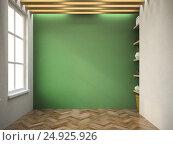 Купить «Interior empty room 3D rendering», иллюстрация № 24925926 (c) Hemul / Фотобанк Лори