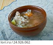 Купить «Turkish chicken soup», фото № 24926062, снято 20 января 2017 г. (c) Александр Fanfo / Фотобанк Лори