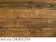 Купить «Горизонтальный фон из досок», фото № 24931510, снято 19 июня 2016 г. (c) Александр Волков / Фотобанк Лори