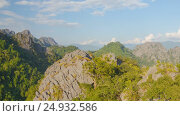Купить «Mountain nature landscape timelapse», видеоролик № 24932586, снято 18 марта 2018 г. (c) Кирилл Трифонов / Фотобанк Лори