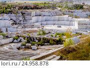Купить «Коелгинский мраморный карьер», фото № 24958878, снято 23 августа 2015 г. (c) Хайрятдинов Ринат / Фотобанк Лори