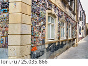Купить «Building in Old city, Icheri Sheher. Baku», фото № 25035866, снято 10 сентября 2016 г. (c) Elena Odareeva / Фотобанк Лори