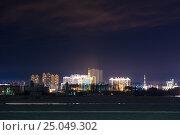 Купить «Вид на китайский город Хэйхэ с набережной Благовещенска», фото № 25049302, снято 17 января 2017 г. (c) Александр Овчинников / Фотобанк Лори