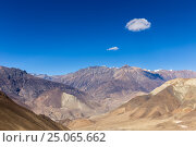 Mountain landscape, the Himalayas, Lower Mustang, Nepal (2016 год). Стоковое фото, фотограф Михаил Пряхин / Фотобанк Лори