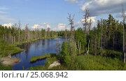 Time-lapse photography of beautiful nature Russia on the Yamal Peninsula. Стоковое видео, видеограф Владимир Ковальчук / Фотобанк Лори