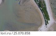 Купить «Top view aerial video of cape and sea in Thailand», видеоролик № 25070858, снято 27 января 2017 г. (c) Михаил Коханчиков / Фотобанк Лори