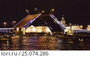The Layout Of The Palace Bridge In St Peteruburge Time Lapse Photography (2016 год). Редакционное видео, видеограф Владимир Ковальчук / Фотобанк Лори