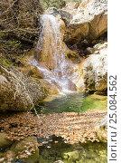 Купить «Родниковский водопад», фото № 25084562, снято 29 марта 2014 г. (c) Выскуб Анна / Фотобанк Лори