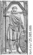 Купить «Flavius Aetius, 391-454, a Roman general of the Western Roman Empire.», фото № 25085686, снято 21 января 2017 г. (c) age Fotostock / Фотобанк Лори