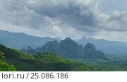 Купить «Khao Sok National Park in Thailand, timelapse», видеоролик № 25086186, снято 22 января 2017 г. (c) Михаил Коханчиков / Фотобанк Лори