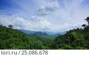 Купить «Khao Sok National Park in Thailand, timelapse», видеоролик № 25086678, снято 30 января 2017 г. (c) Михаил Коханчиков / Фотобанк Лори