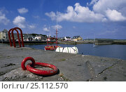 Купить «Mooring ring on pier in a harbour, Kerry, Ireland. August 1998.», фото № 25112570, снято 18 августа 2018 г. (c) Nature Picture Library / Фотобанк Лори