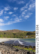Calgary Bay, Isle of Mull, Scotland, UK. June. Стоковое фото, фотограф Alex Hyde / Nature Picture Library / Фотобанк Лори