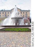 Купить «Город Кемерово. Фонтан», фото № 25149830, снято 17 мая 2010 г. (c) Зобков Георгий / Фотобанк Лори