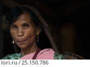 Купить «Portrait of Khasi woman. Nongriat, Khasi Hills. Meghalaya, North East India. October 2014.», фото № 25150786, снято 21 августа 2018 г. (c) Nature Picture Library / Фотобанк Лори