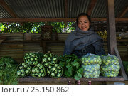 Купить «Rural vegetable market. Nagaland, North East India, October 2014.», фото № 25150862, снято 15 августа 2018 г. (c) Nature Picture Library / Фотобанк Лори