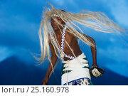 Купить «Local Intore dancer with straw headdress. Volcanoes National Park, Vinguas, Rwanda. February 2012.», фото № 25160978, снято 9 июля 2020 г. (c) Nature Picture Library / Фотобанк Лори