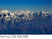 Купить «Mount Everest landscape, Himalayas, Nepal. November 2014.», фото № 25162438, снято 6 августа 2020 г. (c) Nature Picture Library / Фотобанк Лори