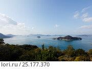 Купить «Landscape from the coast of Okunoshima 'Rabbit Island', Takehara, Hiroshima, Japan, January 2010.», фото № 25177370, снято 16 августа 2018 г. (c) Nature Picture Library / Фотобанк Лори